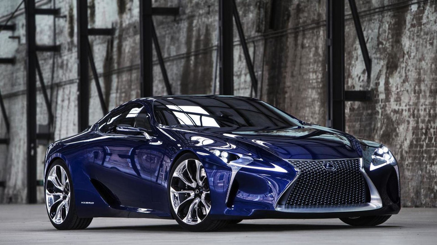 Lexus registers LC 500 and LC 500h names, likely for LF-LC production version