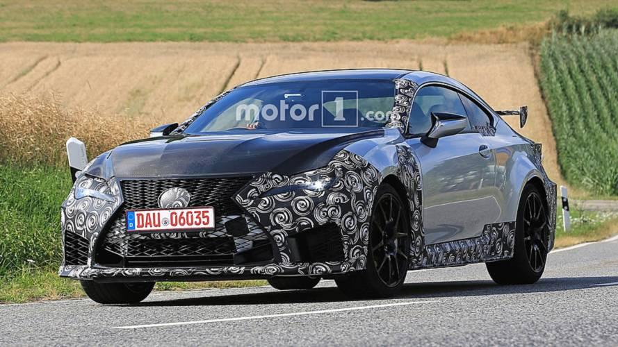 Lexus prépare une version plus radicale de sa RC F