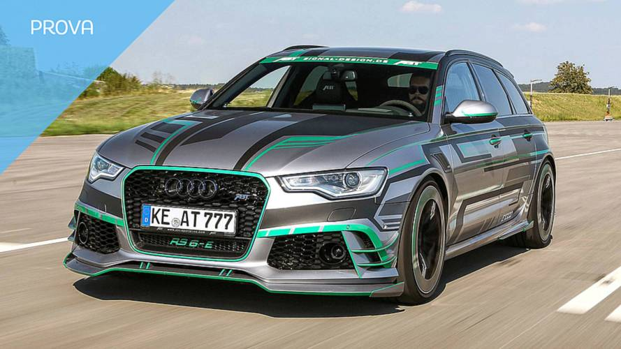 ABT Audi RS6-E, tuning ad alta tensione