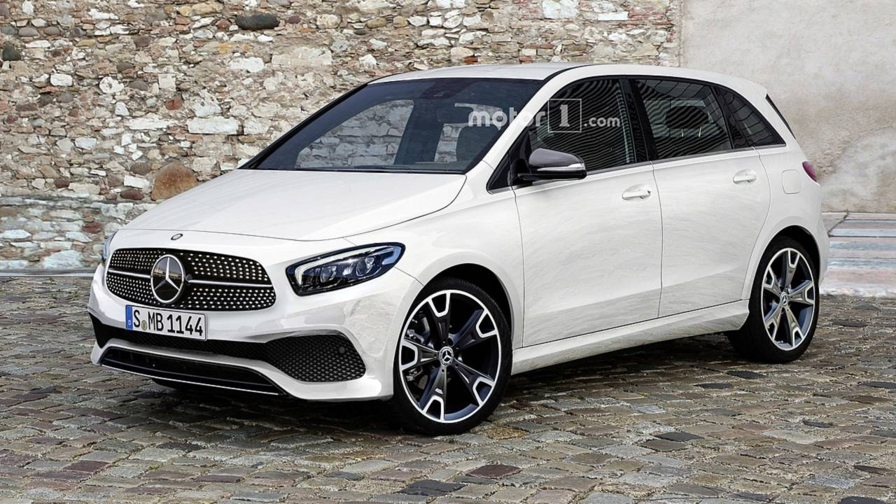 2019 Mercedes B Class Imagined As Sophisticated Minivan