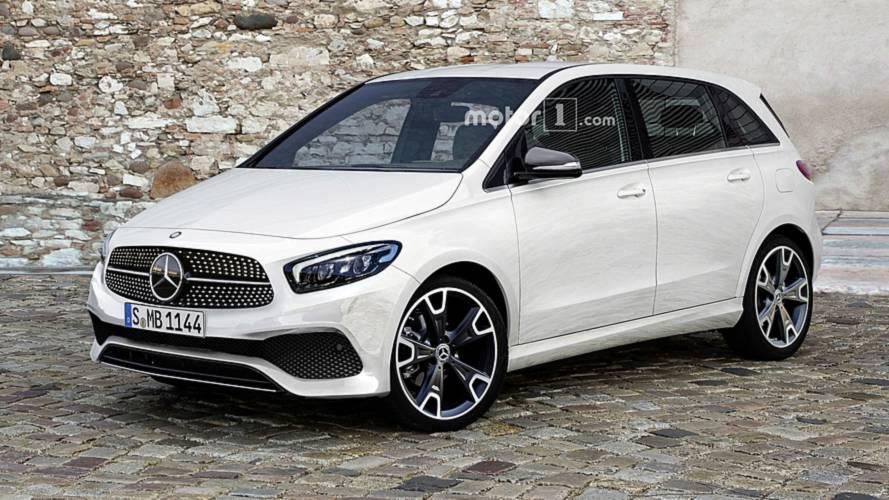 2019 Mercedes B-Class Imagined As Sophisticated Minivan