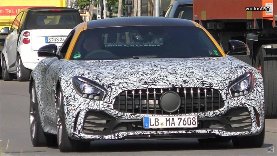 VIDÉO - Que cache ce prototype de la Mercedes-AMG GT R ?