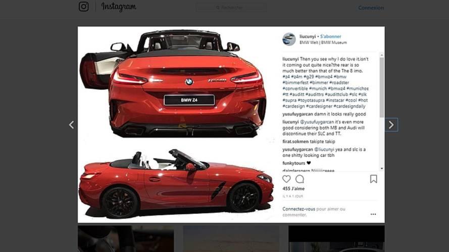 BMW Z4 2018: nuevas fotos filtradas (actualizado)