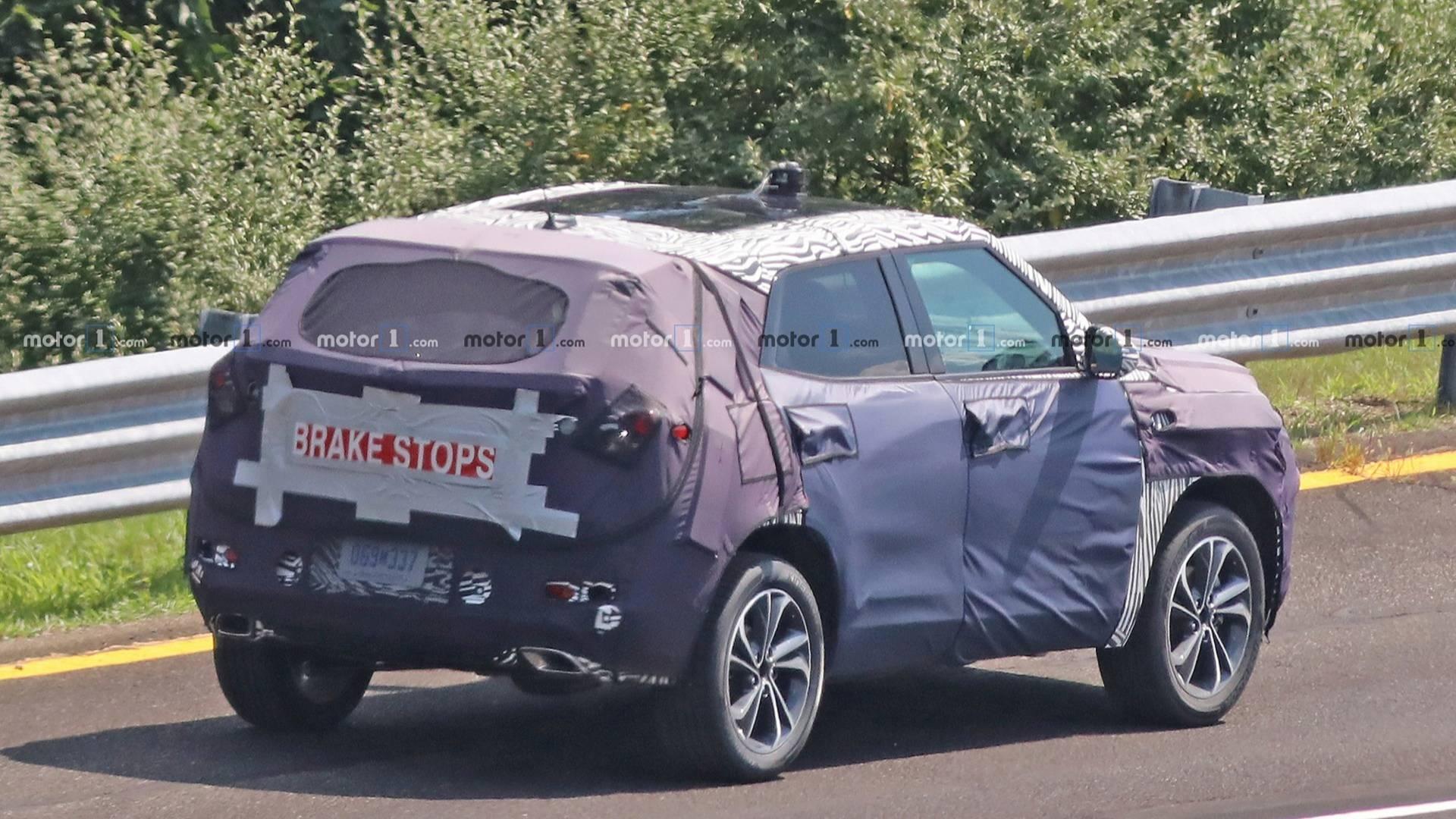 VWVortex.com - Redesigned 2020 Chevrolet Trax SUV Spied ...