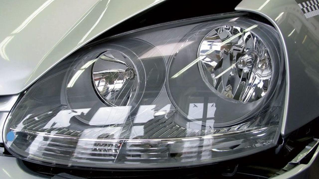 Volkswagen crash test