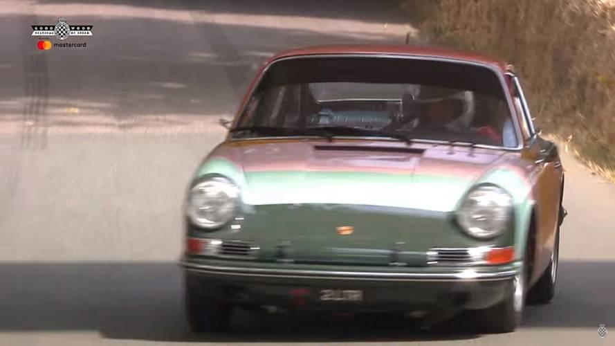 Classic Porsche 911 Going Full Attack At Goodwood