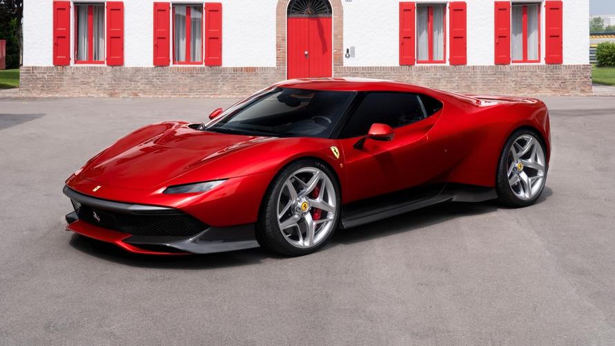 Ferrari cria SP38 com visual único e exclusivo para cliente especial