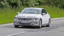 2019 VW Passat facelift Euro spec spy photos