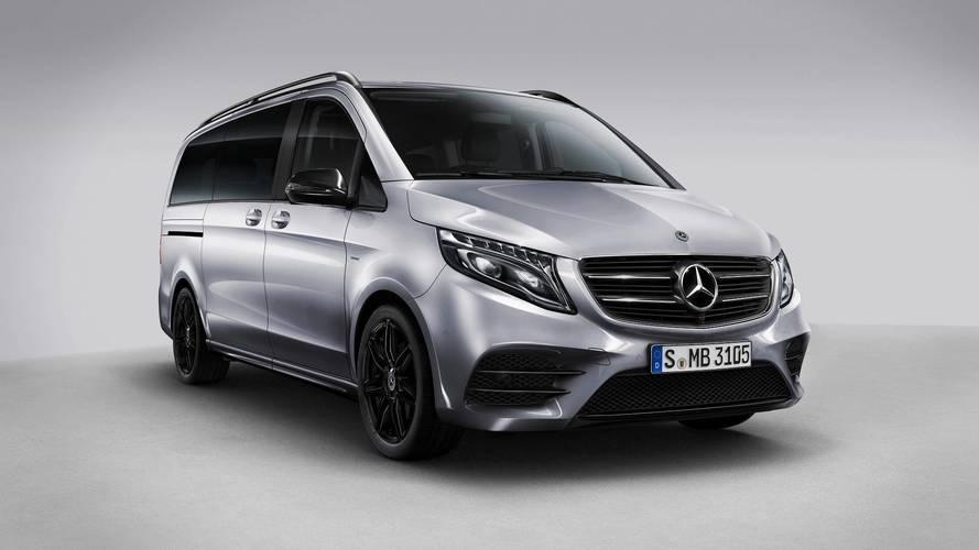 Mercedes V-Serisi'ne Night Edition versiyonu