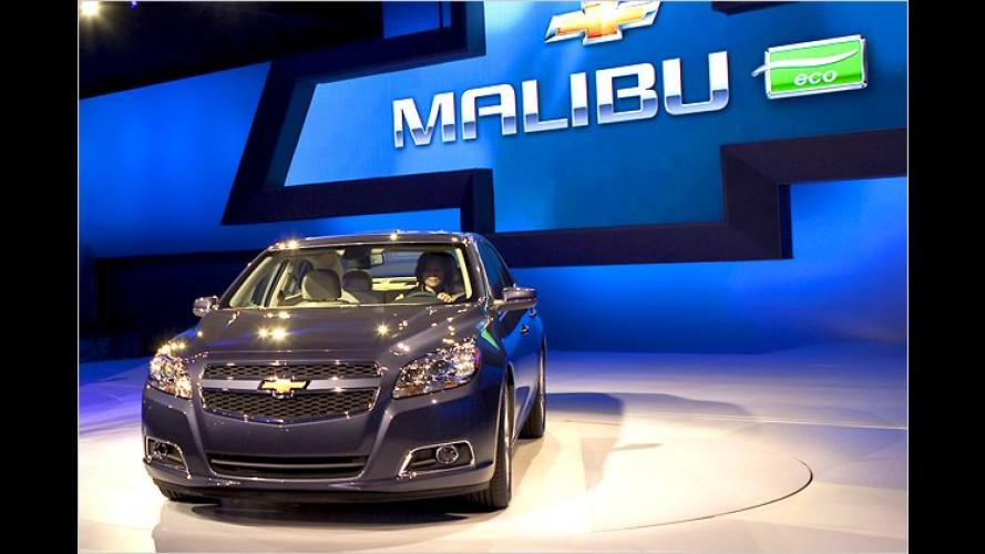 Chevrolet Malibu Eco: General Motors bringt Start-Stopp
