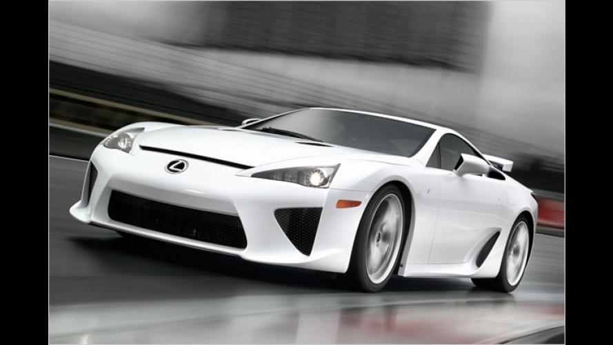 Lexus auf der SEMA-Show: LFA, getunte IS-Versionen und mehr