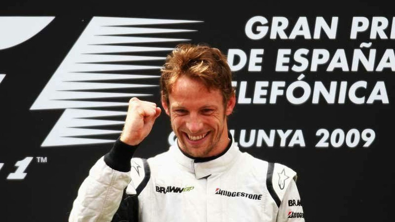 Jenson Button Wins Spanish Grand Prix 2009