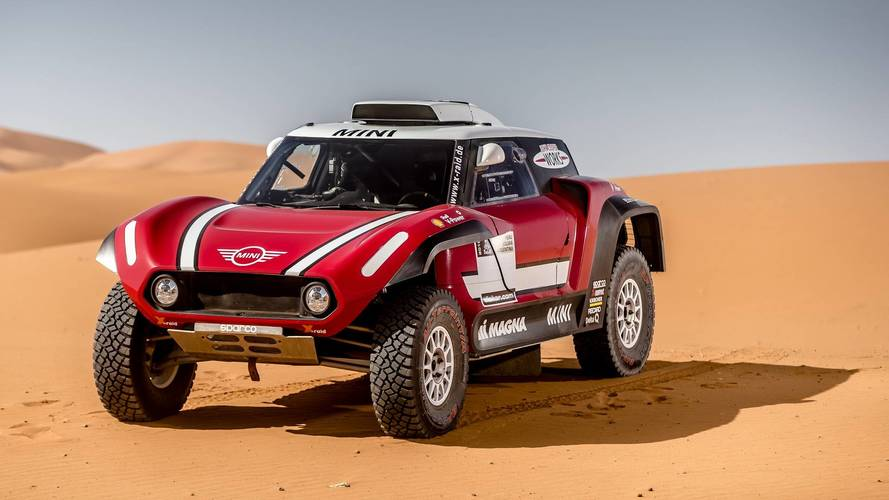 Buggy Mini X-Raid Dakar 2018