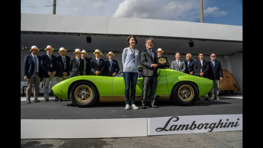 """Concorso di Eleganza """"Lamborghini & Design"""", vince una Miura SV"""