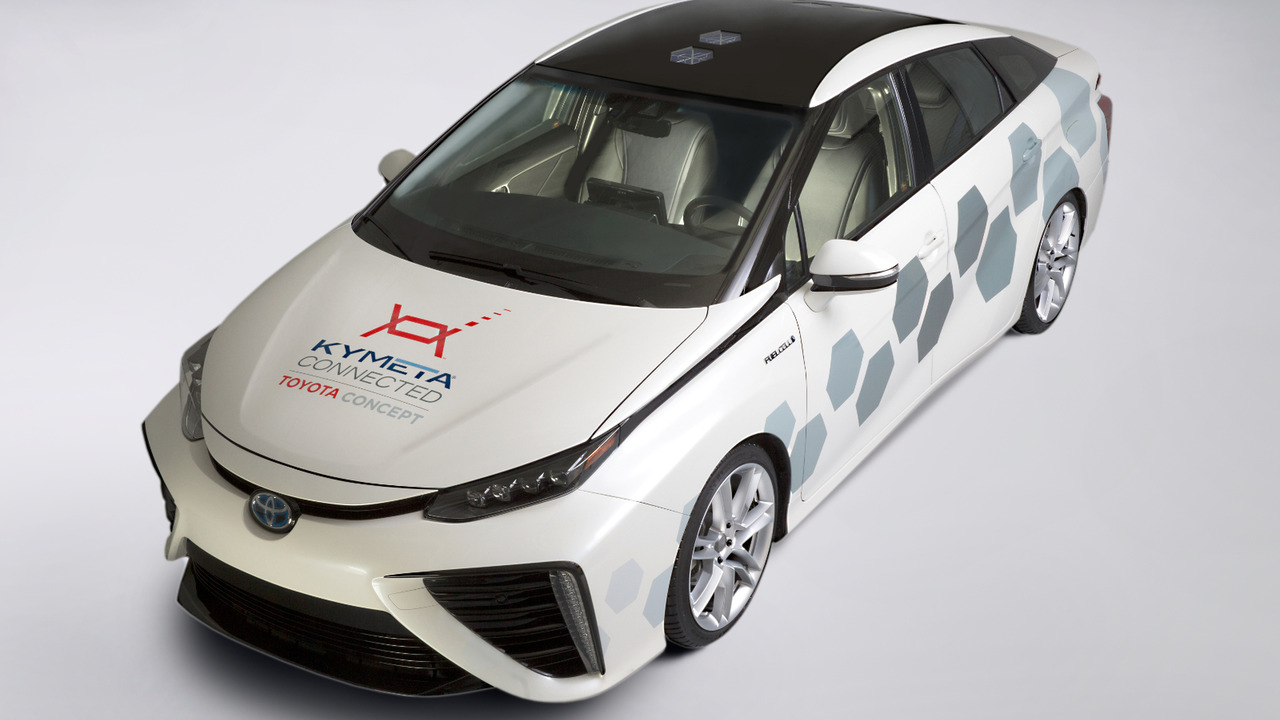 Toyota Mirai Research Vehicle