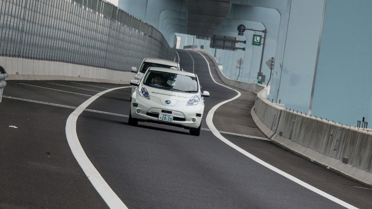 Nissan Leaf Piloted Drive 1.0 concept
