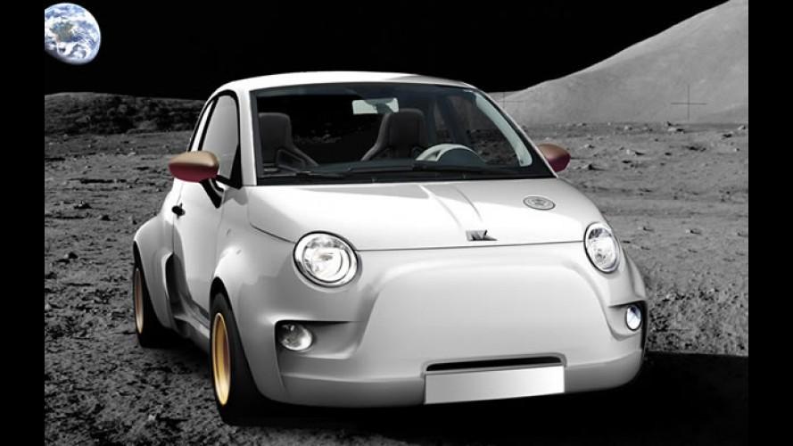 Atomik 500 - O elétrico derivado do Fiat 500 com 300 cv de potência e tração integral