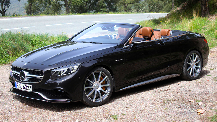 First Drive: 2017 Mercedes-AMG S63 Cabriolet