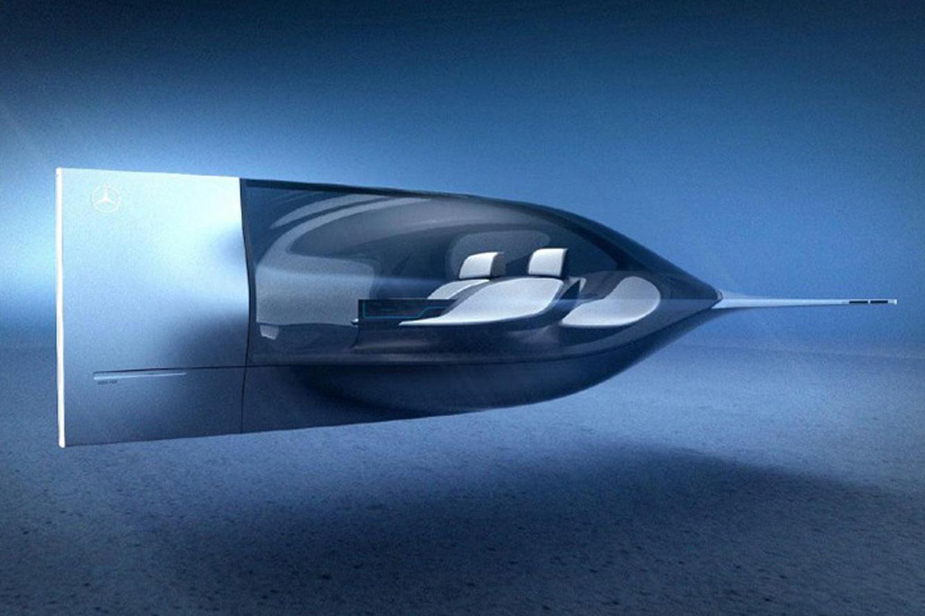 This Autonomous Underwater Mercedes Concept is a Jetson's Car for the Sea