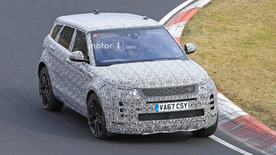 2019 Range Rover Evoque Nürburgring'de yakalandı