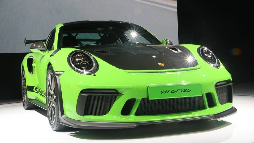 Porsche Highlights Lightweight 911 GT3 Weissach Package In NY