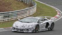 2019 Lamborghini Aventador SV Jota spy photo