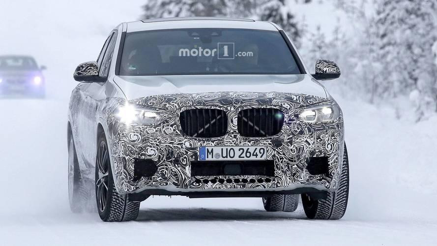 2019 BMW X4 M casus fotoğraflar
