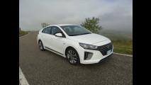 Hyundai Ioniq Hybrid, test di consumo reale Roma-Forlì