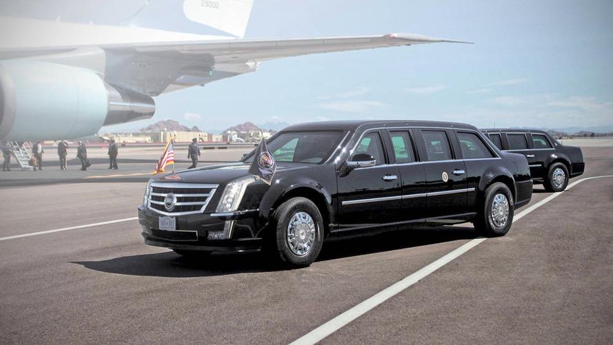 La limousine blindée de Donald Trump est fin prête !