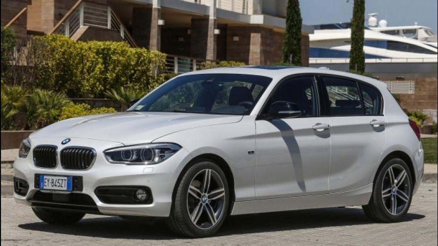 BMW, con la 114d per neopatentati arriva il corso di guida sicura