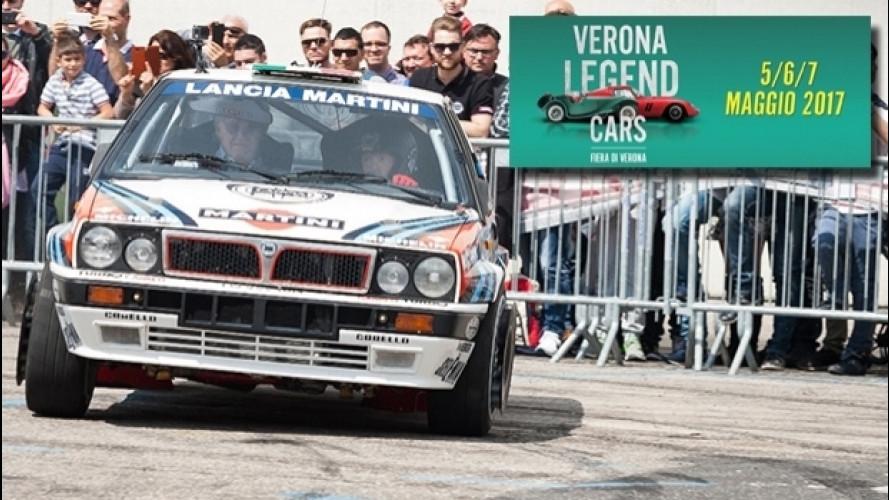 Verona Legend Cars 2017, l'auto storica dà spettacolo