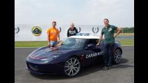 Lotus Evora S Carabinieri, i piloti