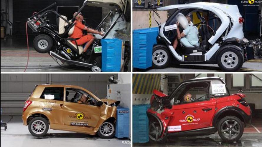 Microcar, sono meno sicure delle auto