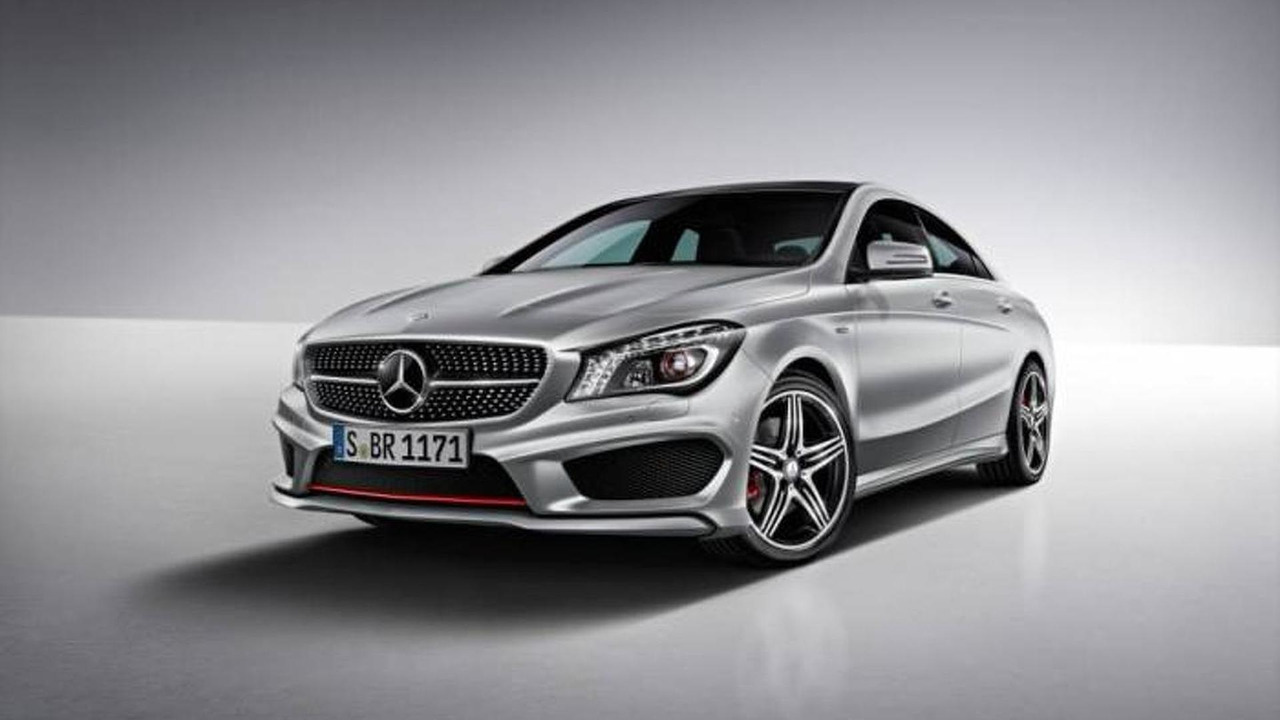 Mercedes-Benz CLA250 with Sport Package Plus