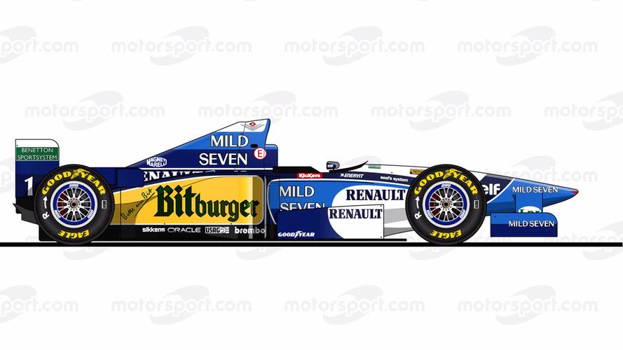 Repasa todos los Fórmula 1 conducidos por Michael Schumacher