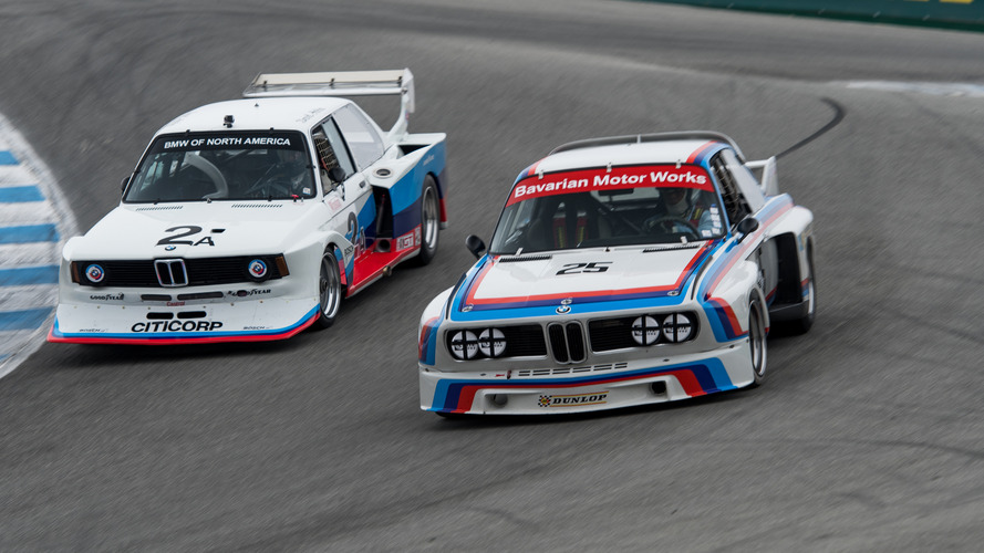BMWs old and new shine at 2016 Rolex Monterey Motorsports Reunion