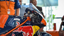 The KTM MotoGP Bike, detail
