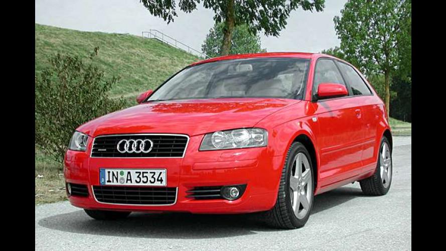Audi A3 3.2 quattro: Sportsimulator mit Reisequalitäten