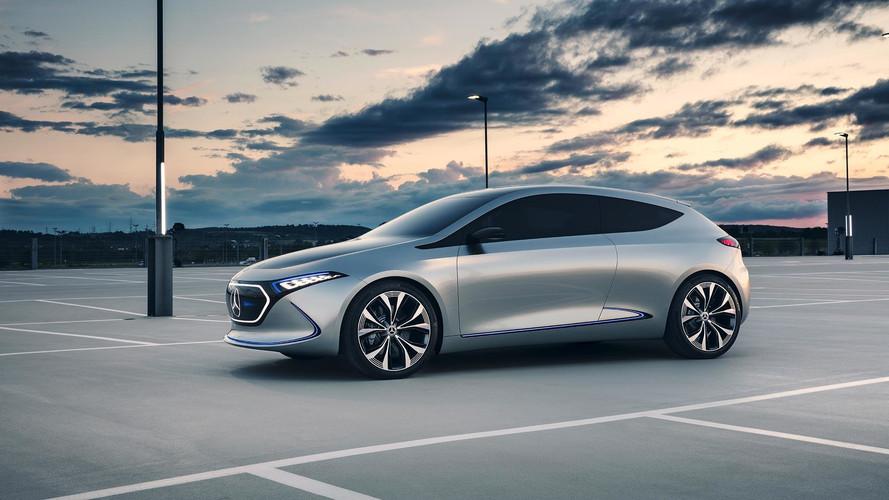 Mercedes Reveals BMW I3-rivalling EQA Concept Car
