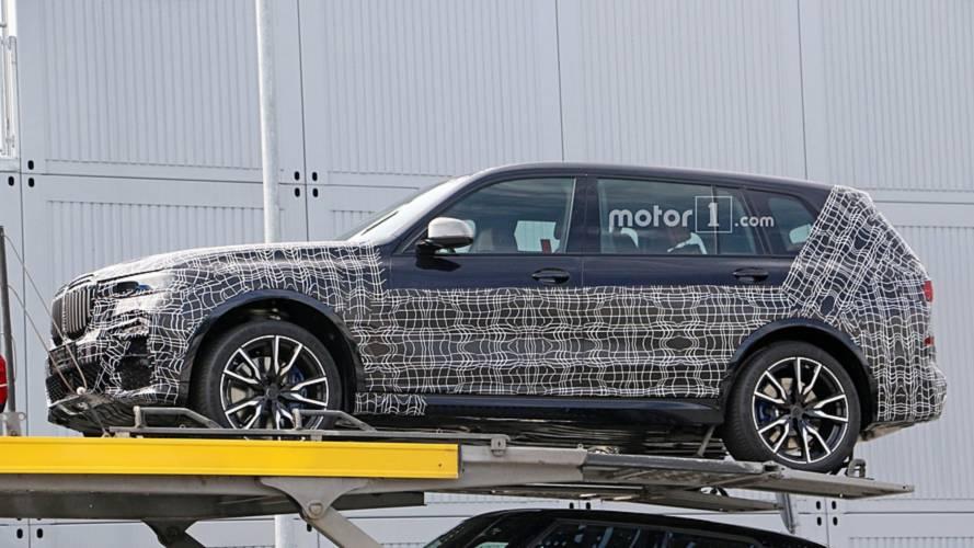 2019 BMW X7 new spy photos