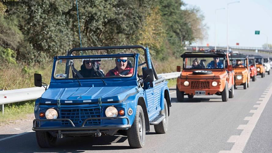 Citroën Méhari rassemblement en Argentine