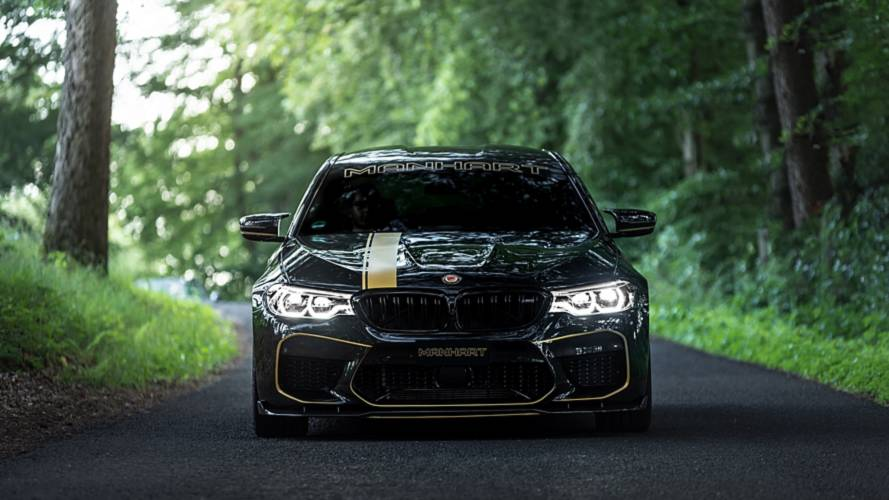 BMW M5 2018 by Manhart