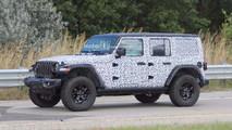 2018 Jeep Wrangler Rubicon Spy Photo