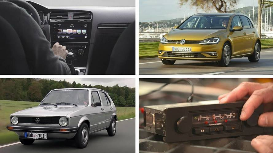 Tune In To See How The VW Golf's Radio Has Evolved Over The Years