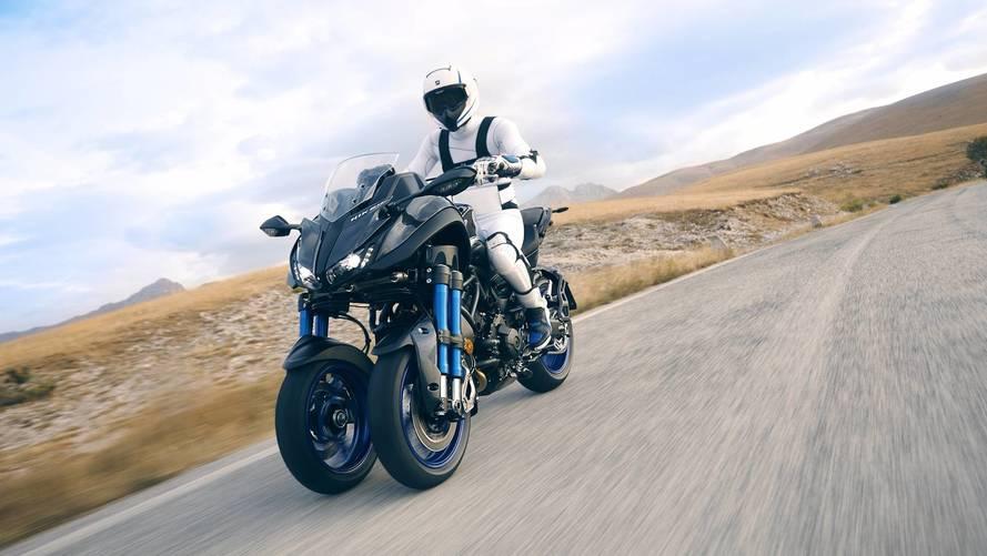 Yamaha Niken - La moto à 3 roues fait ses débuts officiels !