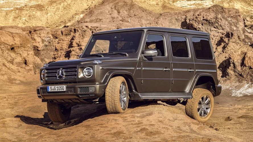 2019 Mercedes G-Class Is More AMG Than Ever