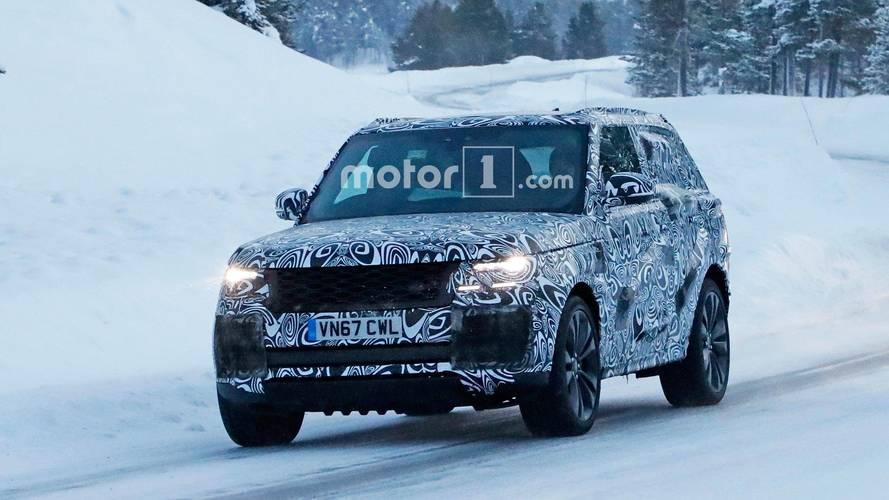 Ultra lüks Range Rover Coupe ilk kez objektiflere takıldı