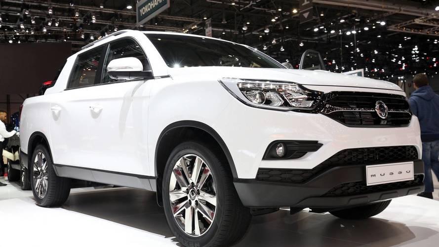 SsangYong dünyanın ilk elektrikli pick-up'ını üretmek istiyor