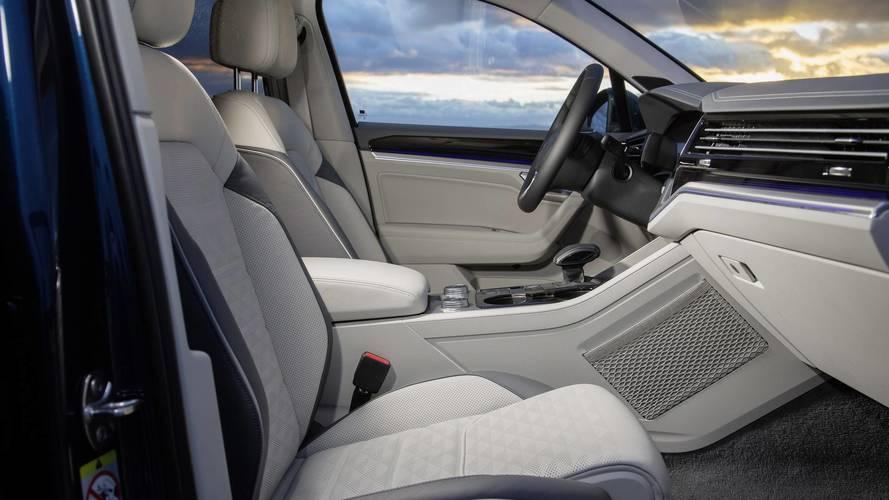 Volkswagen Touareg 2018: primeras fotos del interior