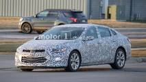 2019 Chevrolet Malibu Spy Photos